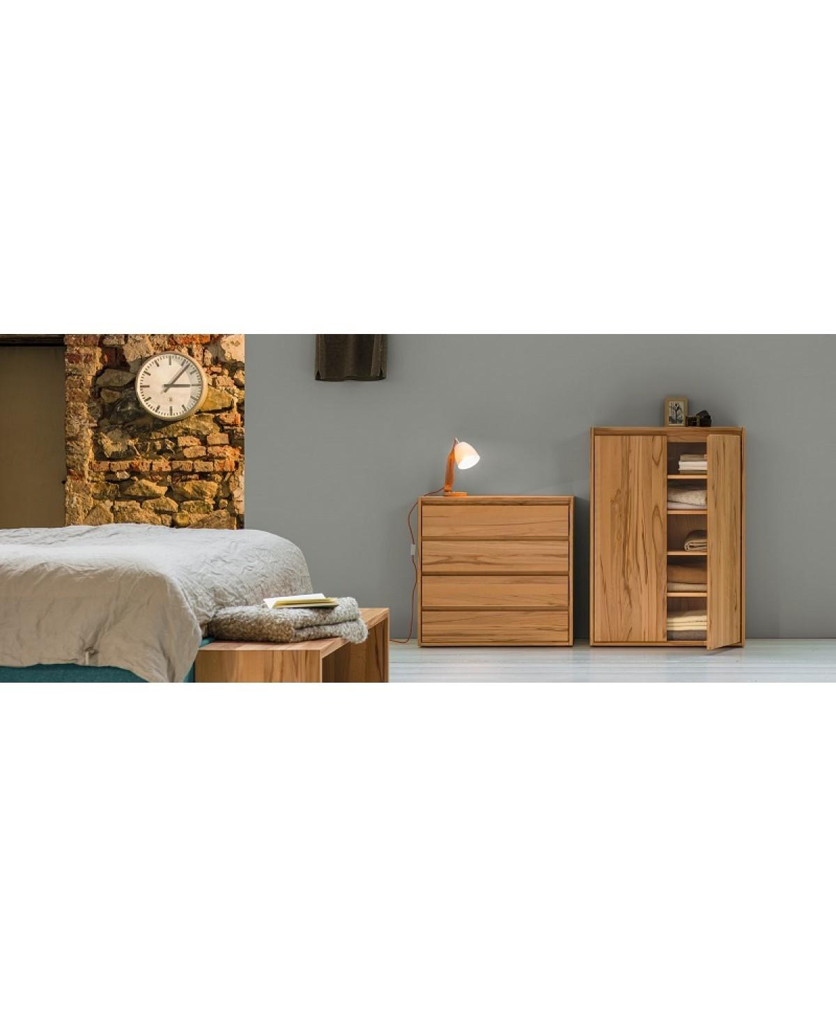 Beroemd Bank voor achter het bed hout Close-it voeteneind bankje  WQ69