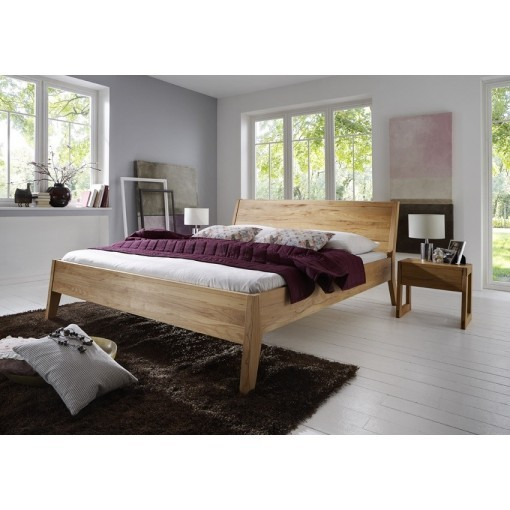 Massief Houten Bed 140x200.Massief Eiken Houten Bed Toronto