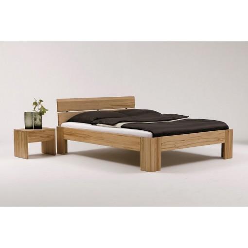 Massief Houten Bed 160x200.Massief Houten Bed Mika Met Hoofdbord
