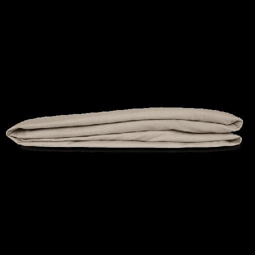 Kayori hoeslaken SHIZU biologisch percal katoen Zand
