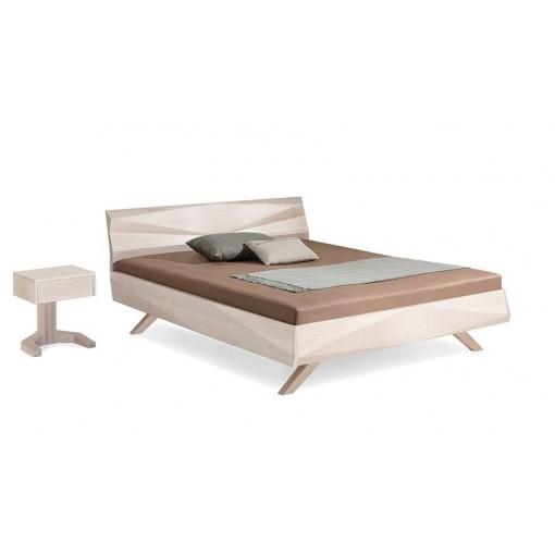 Hout design bed GABO eiken ecologisch Dormiente