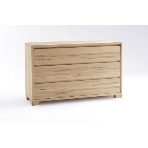 Ladekast Amsterdam 3 lades commode massief hout