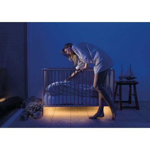 Led bed verlichting ledstrip met sensor en dimmer onder bed MyLight