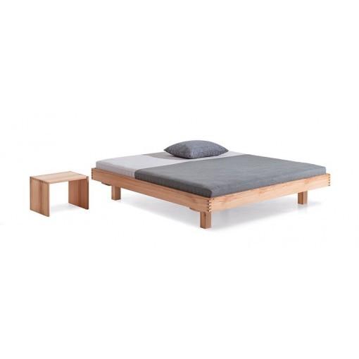Massief houten bed Plain Dormiente