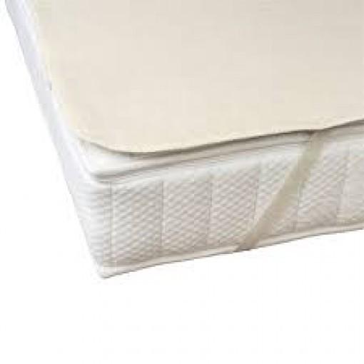Molton Dormiente biologische matrasbeschermer 100% bio katoen