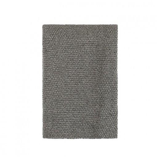 Plaid Holm Grey 130x240 cm gemeleerd recycled denim House in Style