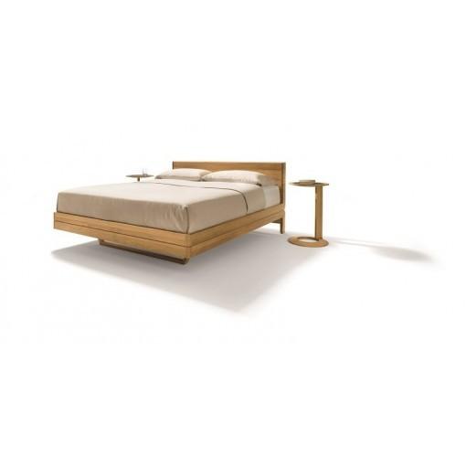 TEAM 7 bed FLOAT zwevend design massief hout metaalvrij