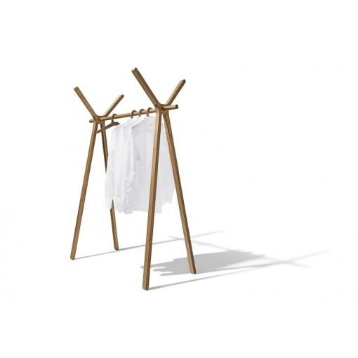 TEAM 7 design kledingrek HOOD+ hout