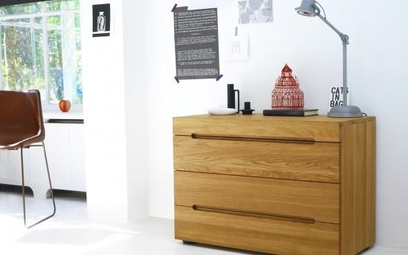 Ladenkast Voor Slaapkamer : Ladenkast eiken modern edge 4 laden loof slaapkamer