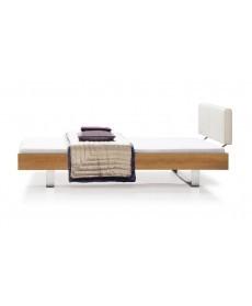 Design bed STEP-G XL massief hout Holzmanufaktur