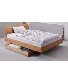 Houten bed met laden X-Step