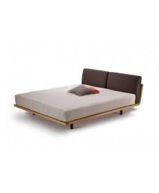 Massief eiken houten design bed Swinq