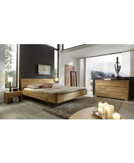 Massief houten bed Amsterdam eiken wild