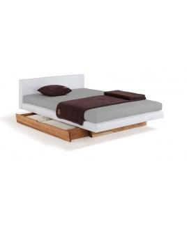 Boxspring eco Lounge night (optioneel met lade) bed Dormiente metaalvrij
