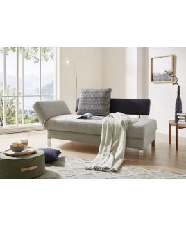 Chaise longue SOLO design bank natuurlijk Wolkenweich