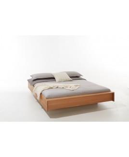 Design zwevend bed FLAI eiken Müller Mobel