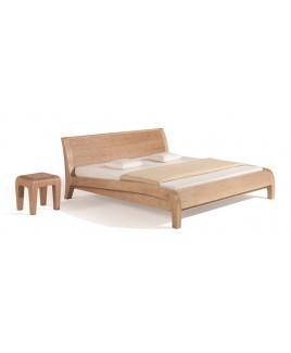 Dormiente bed BELUGA massief hout (in 10 houtsoorten leverbaar)