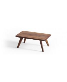Houten bijzettafel DONNA rechthoekig Holzmanufaktur