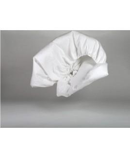 Molton katoen pure white Yumeko biologisch eco