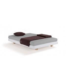 Natuurlijk bed inclusief natuurlatex matras Dormiente