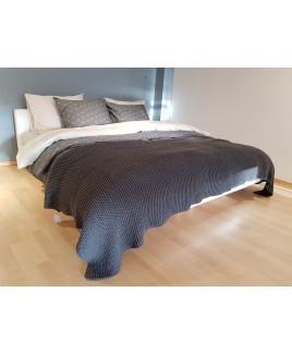 Sale Dormiente Eco Boxspring LOUNGE NIGHT met hoofdbord wit 180x200 cm