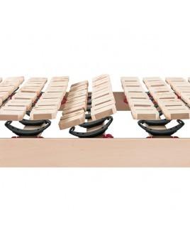 Schotelbodem van onbehandeld massief Alpenden hout Ergo Natura Z Dormiente metaalvrij