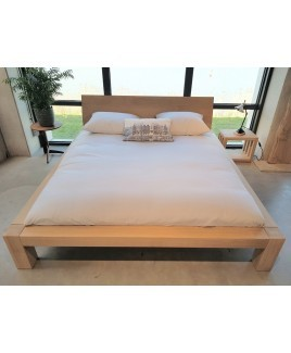 Showroom sale: DORMIENTE bed KARA massief hout eiken 180x200 cm