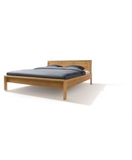 TEAM 7 bed LUNETTO met houten hoofdbord metaalvrij