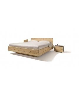 Zirben alpenden bed NOX massief hout Team 7