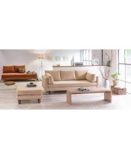 3 Zits bank / slaapbank Lounge S type H biologisch Dormiente eco
