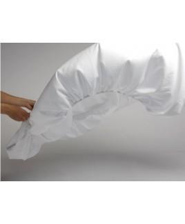 Aanbieding Yumeko topper hoeslaken Pure White 180x210 cm