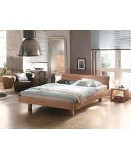 Bed Mucho massief hout met rugleuning Dormiente bedden