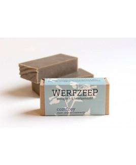 Biologische zeep Comfrey fris en verkwikkend met o.a. smeerwortel, rozemarijn, eucalyptus en pepermunt