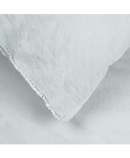 Dekbedovertrek Trapani Pearl Grey biologisch katoen parel grijs House in Style