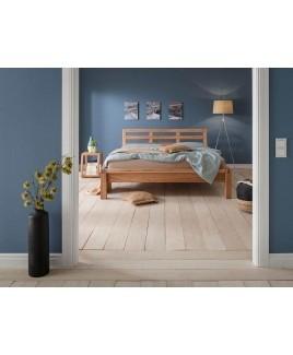 Opruiming Massief houten bed MILANO beuken metaalvrij 160x200 cm Dormiente