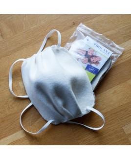 Herbruikbaar mondmasker en wasbaar 95°C biologisch katoen mondkapje
