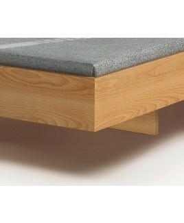 Massief houten bed STEP-G met gebogen hoofdbord Holzmanufaktur