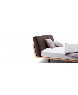 Massief eiken houten design bed Swinq