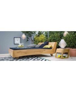 Massief houten nachtkastje Balena met lade Dormiente keuze uit 10 houtsoorten
