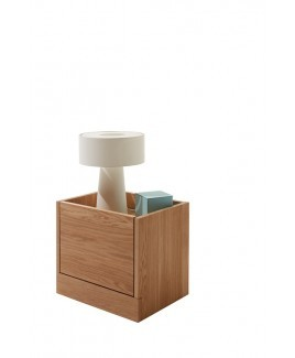 Nachtkastje design FLAI massief eiken Muller mobel