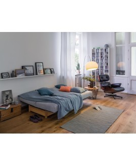 Slaapbank met opbergruimte 2 persoons Welcome ecologisch natuurlijke materialen Dormiente