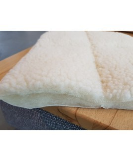 Wollen onderdeken SONDRIO DIK biologisch wol onderlegger Prolana