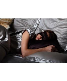 Zijden slaapmasker 100% moerbei zijde satijn zacht oogmasker