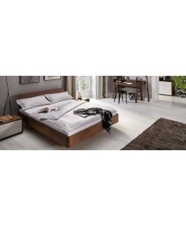 Zwevend houten design bed COM:CI  XL Holzmanufaktur