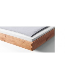 Zwevend design bed PADIO PURE massief hout Holzmanufaktur