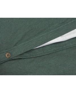 Yumeko dekbedovertrek set PINE GREEN jersey katoen biologisch